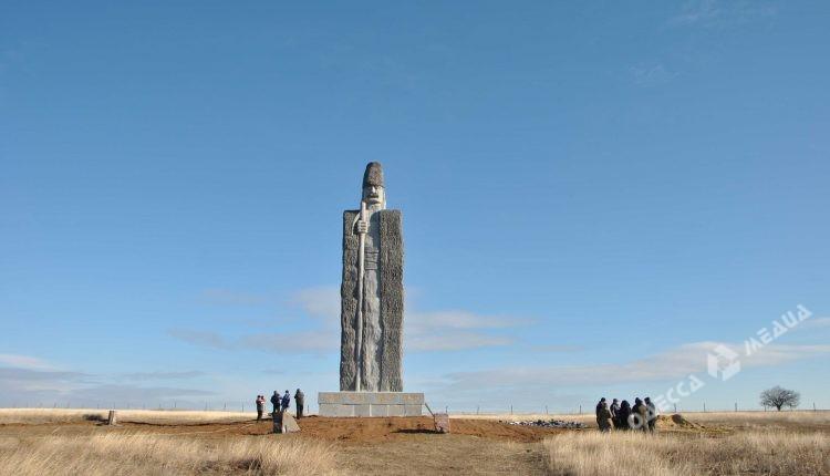 Монумент чабану, установленный наОдесчине, попал вКнигу рекордов Гиннеса