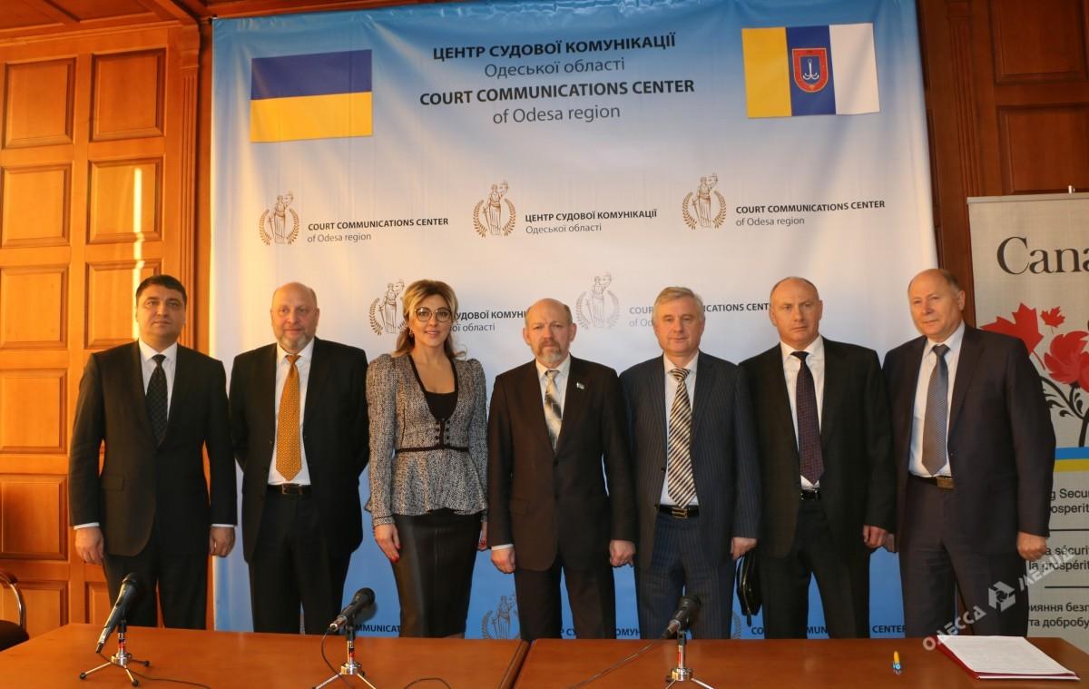 В Одессе открылся Центр судебной коммуникации со СМИ (фото)