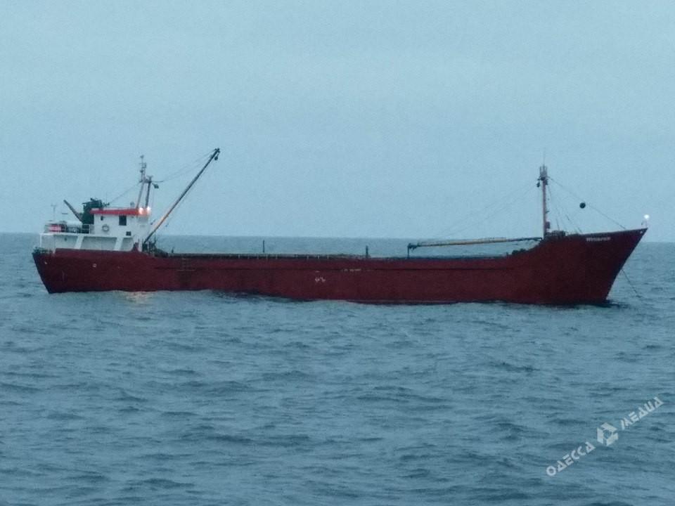 Ракетный катер «Прилуки» применил оружие при задержании судна сконтрабандой