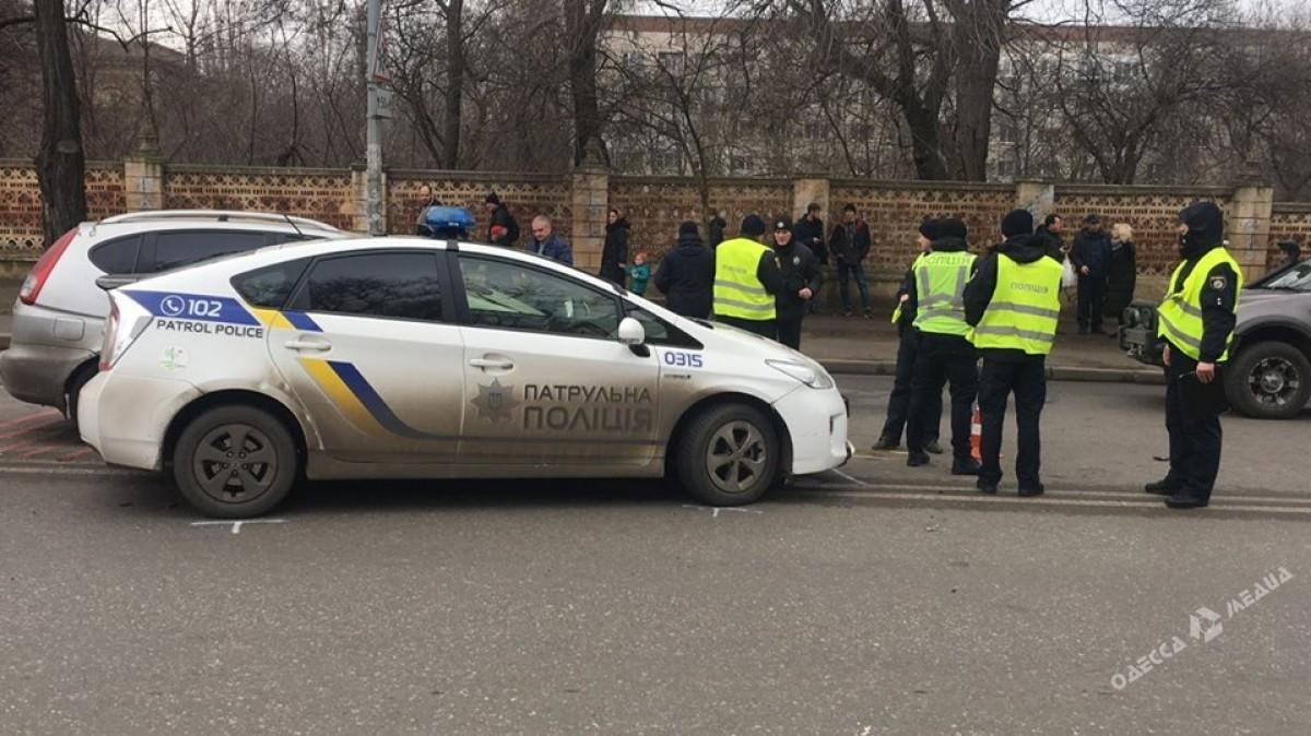 Работники милиции устроили ДТП вОдессе