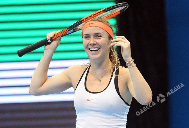 Свитолина завоевала 1-ый титул всезоне