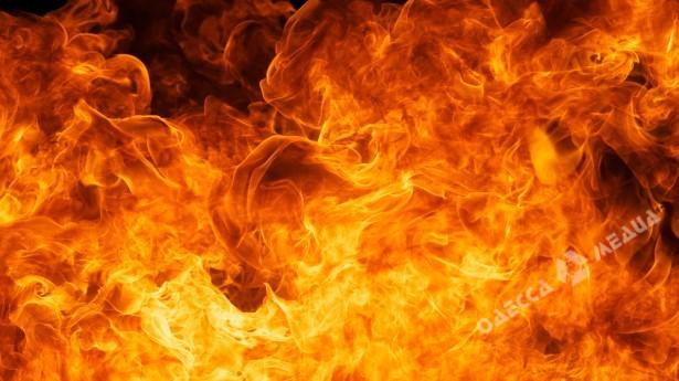 Наокраине Одессы масштабный пожар: пламенеют  склады смаслом