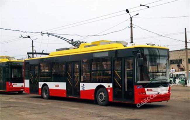 В Одессе изменится интервал отправлений троллейбуса №9