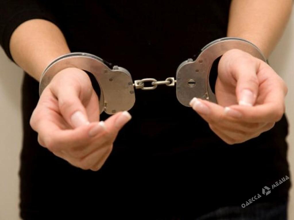 Полицейские Одессы задержали молодую женщину, ограбившую банк - ИА ... 01ab16f88a7