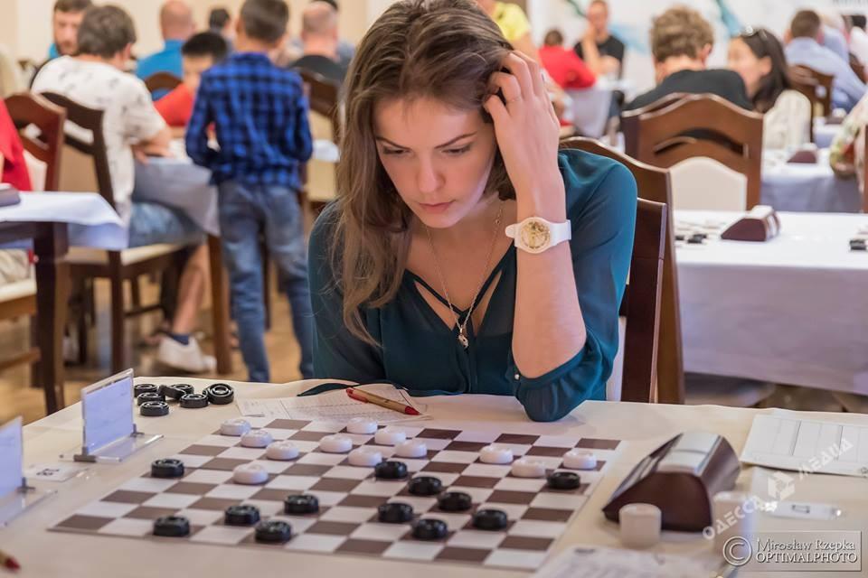 Одесская шашистка одержала очередную победу в Израиле