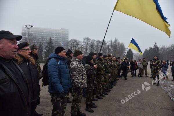В Одессе милиция живой стеной разделила «Самооборону» и «Антимайдан» (ФОТО), фото-10