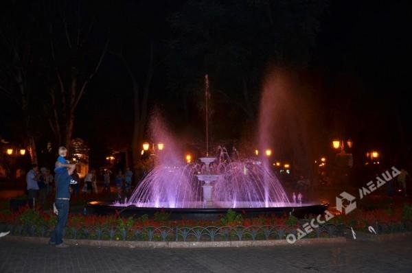 Напомним, фонтан в Городском