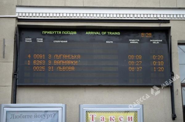 Отметим, опоздание поезда из