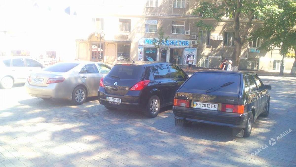 bea252f43747b08516e6f4cdf346663c Одесские автохамы оккупировали Греческую площадь