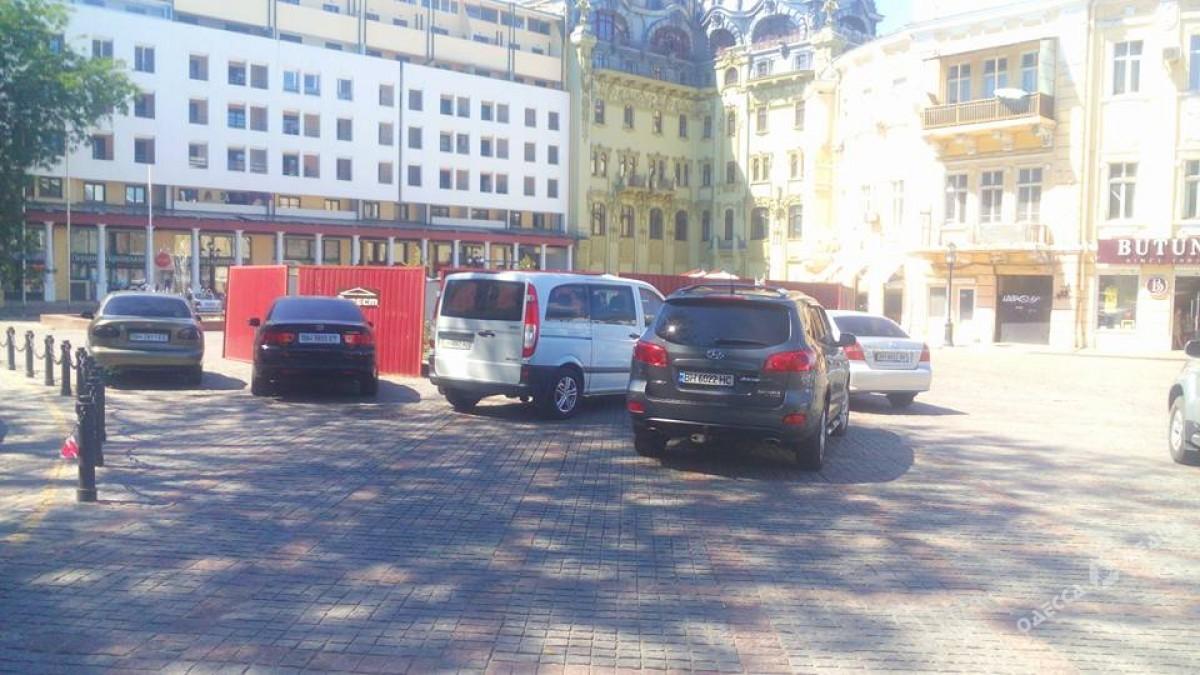 fc7a2f4db113e9689b8b49f3f43e2882 Одесские автохамы оккупировали Греческую площадь