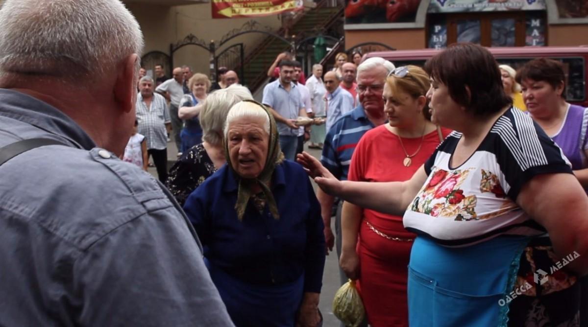 e905a44c17deb8d2bf3417abdfd993db Бунт на одесском рынке: блокировали улицу