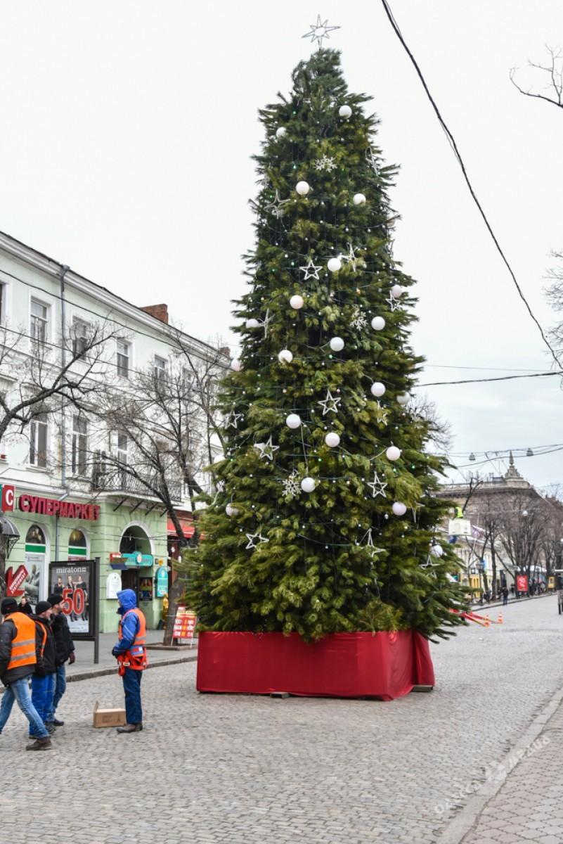 c604b07d5f2217bf463ab934a9a6e4f3 Красота новогодней Одессы: иллюминация и елки