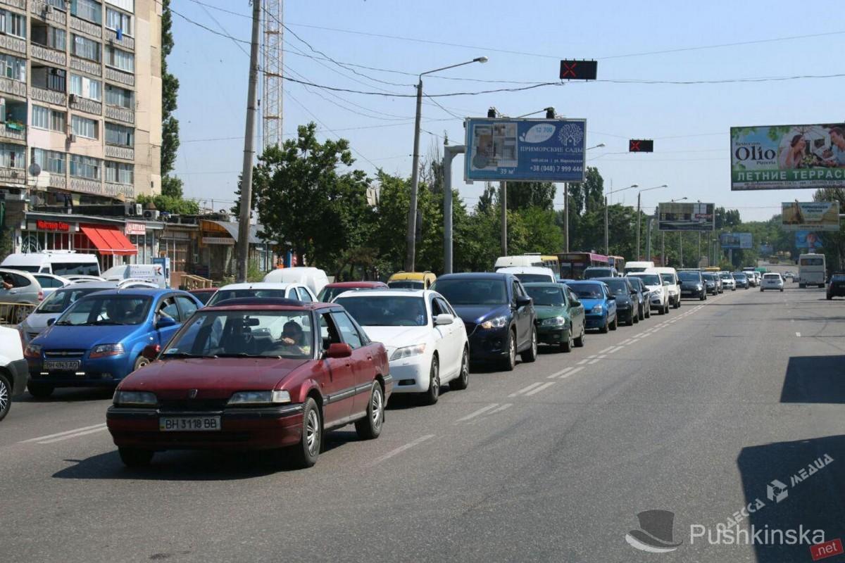 c0730196d631d7abfe4b50d6a4d14012 ДТП в Одессе: движение остановлено